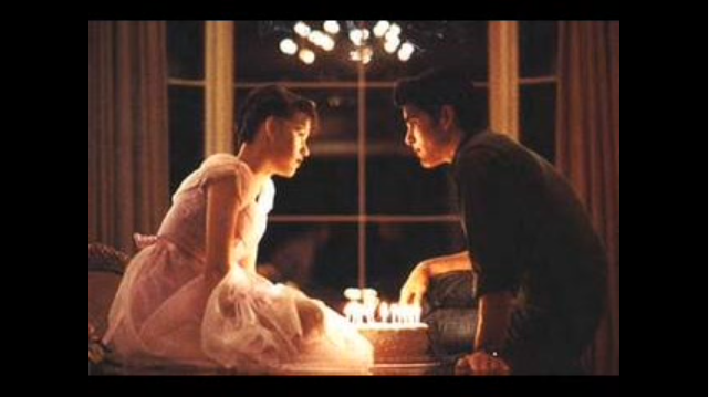 Sixteen Candles cake scene
